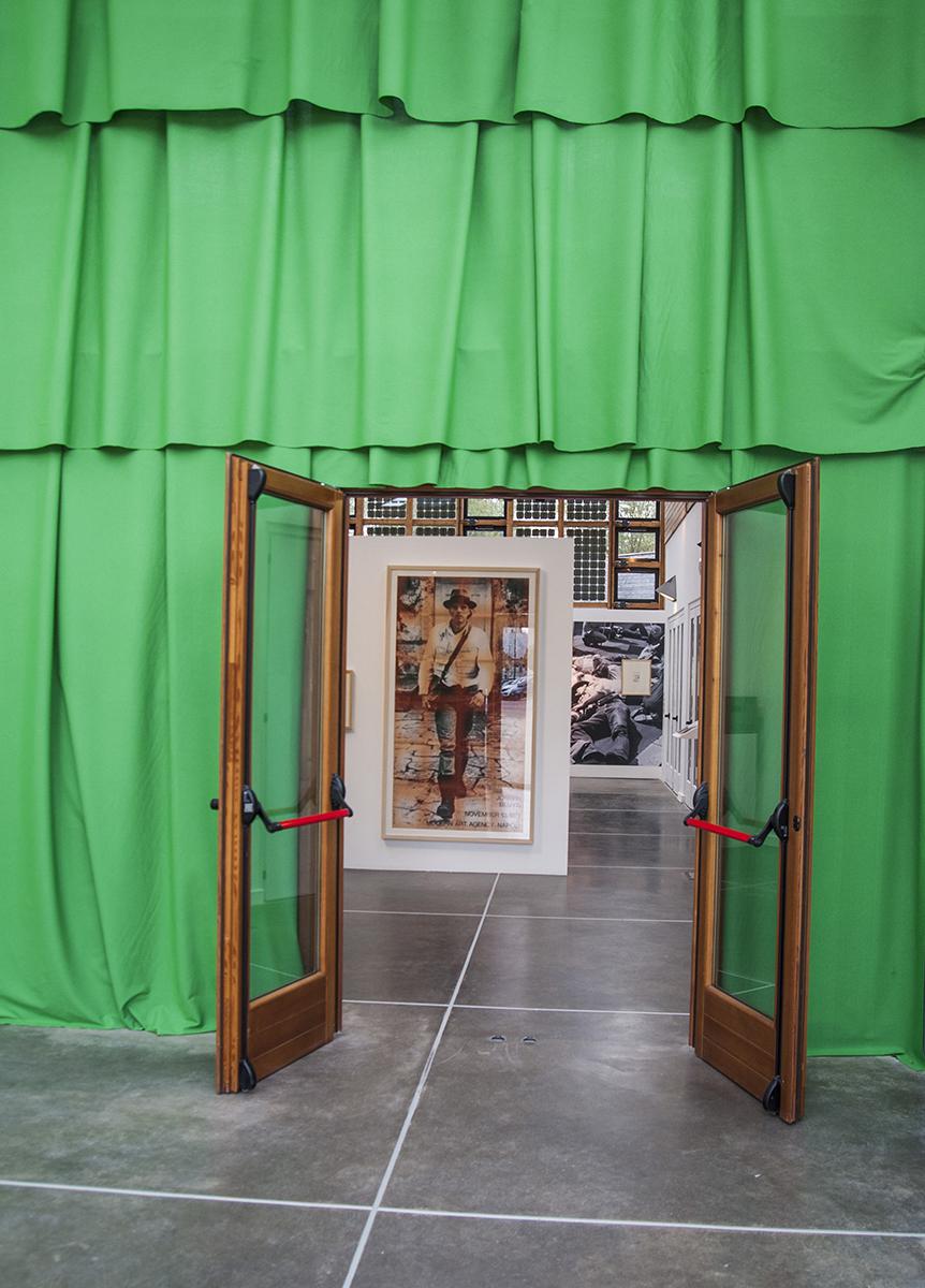 La tenda verde, veduta mostra