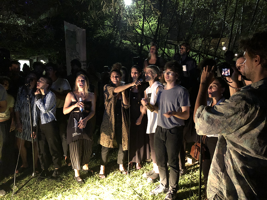 Michela Depetris, Che wing gun karaoke