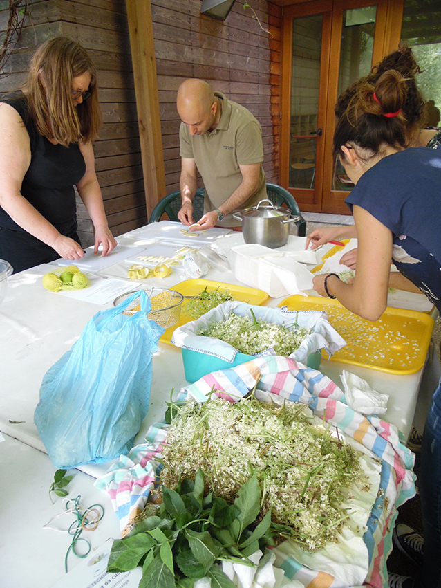 workshop Making cordials