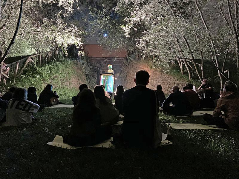 Natalia Trejbalova e Bellagio Bellagio A Few Impressions on Viandante (2019) Performance, 30' circa Performer: Melissa Ghedini