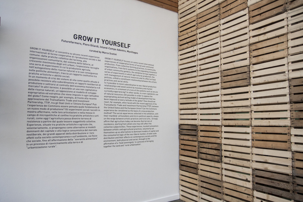 Ingresso mostra Grow It Yourself al PAV