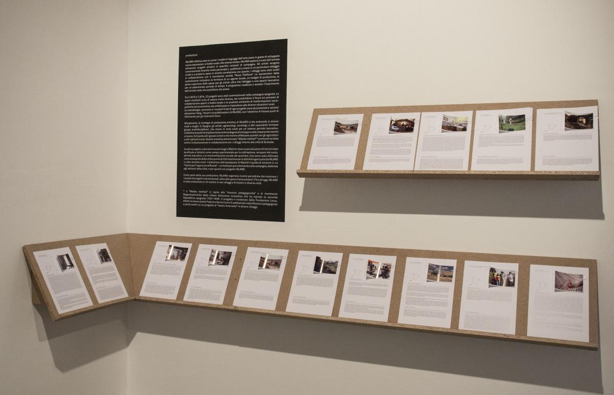 Documentazione scritta di progetti relativa a Inland-Campo Adentro