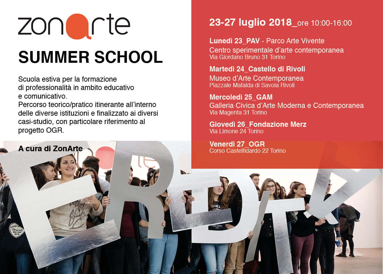 summer school ZonArte 2018