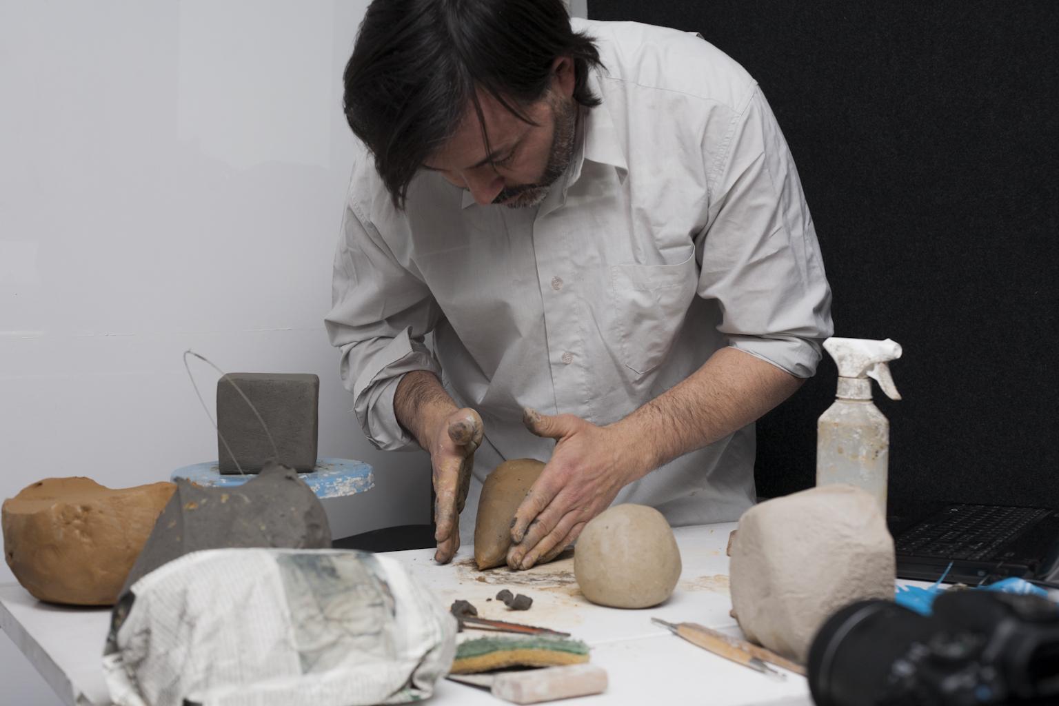 Juan Sandoval, workshop Fare l'immateriale