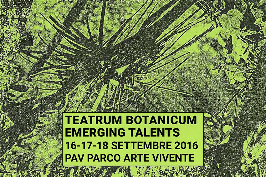 Teatrum Botanicum flyer