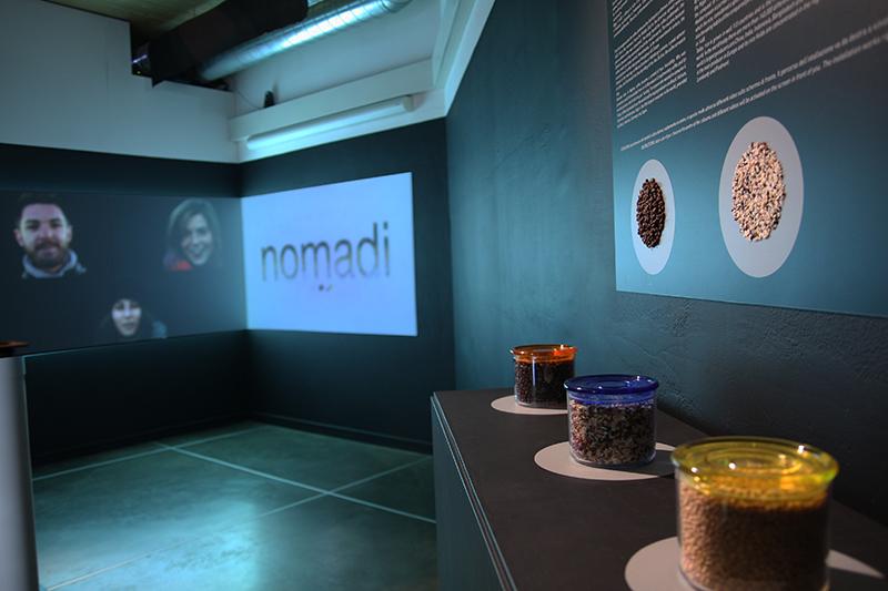 Show Food, materiali tattili