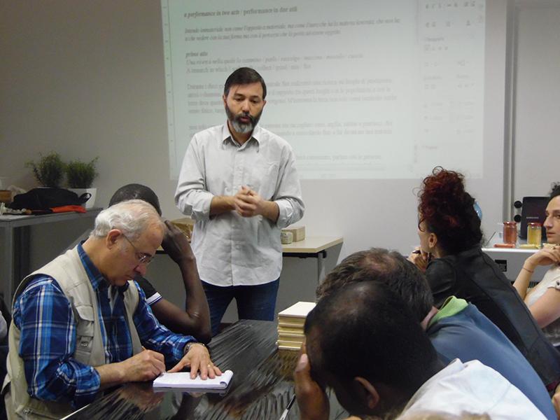 Workshop 51, Fare l'immateriale