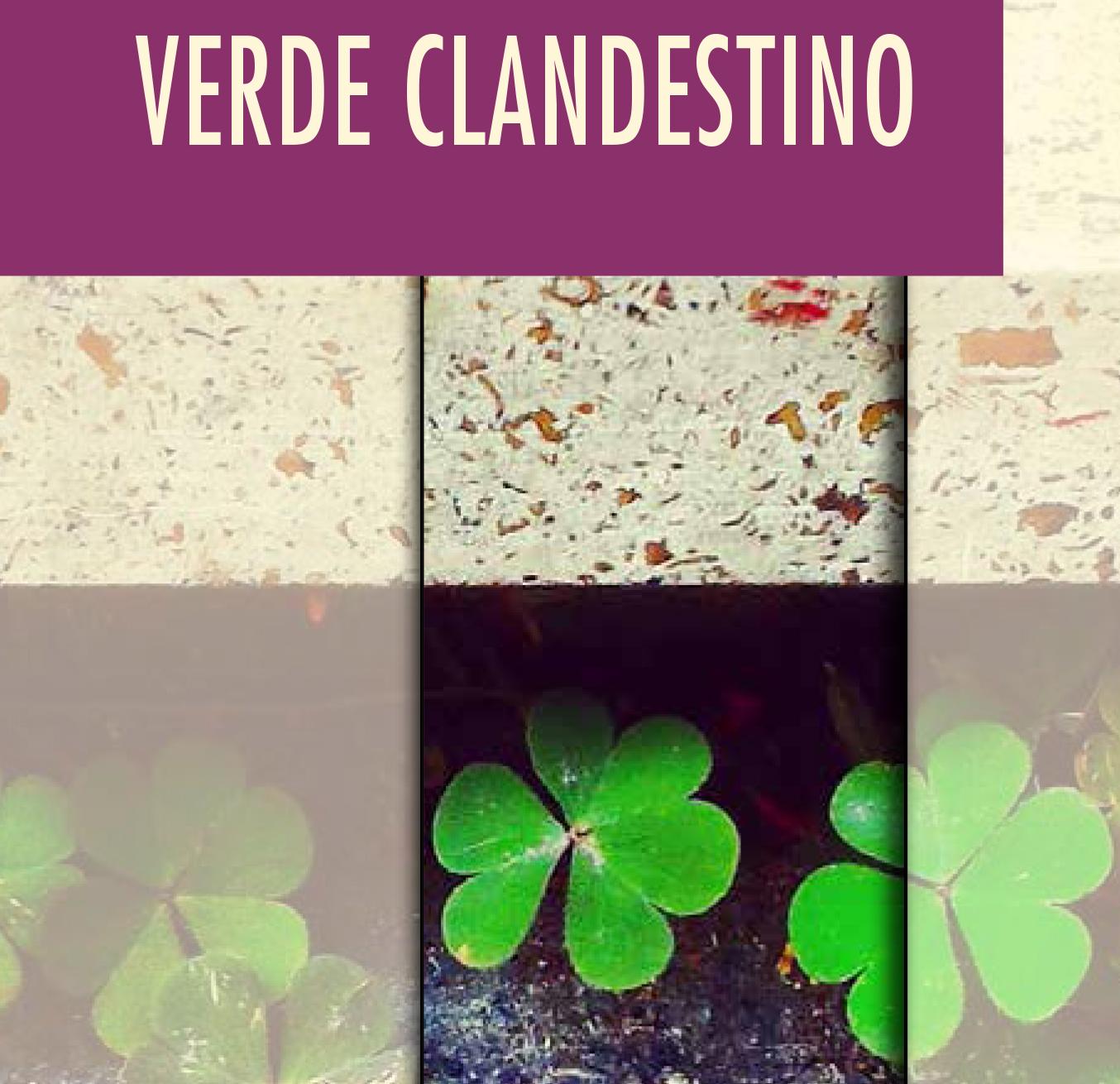 verde clandestino cover