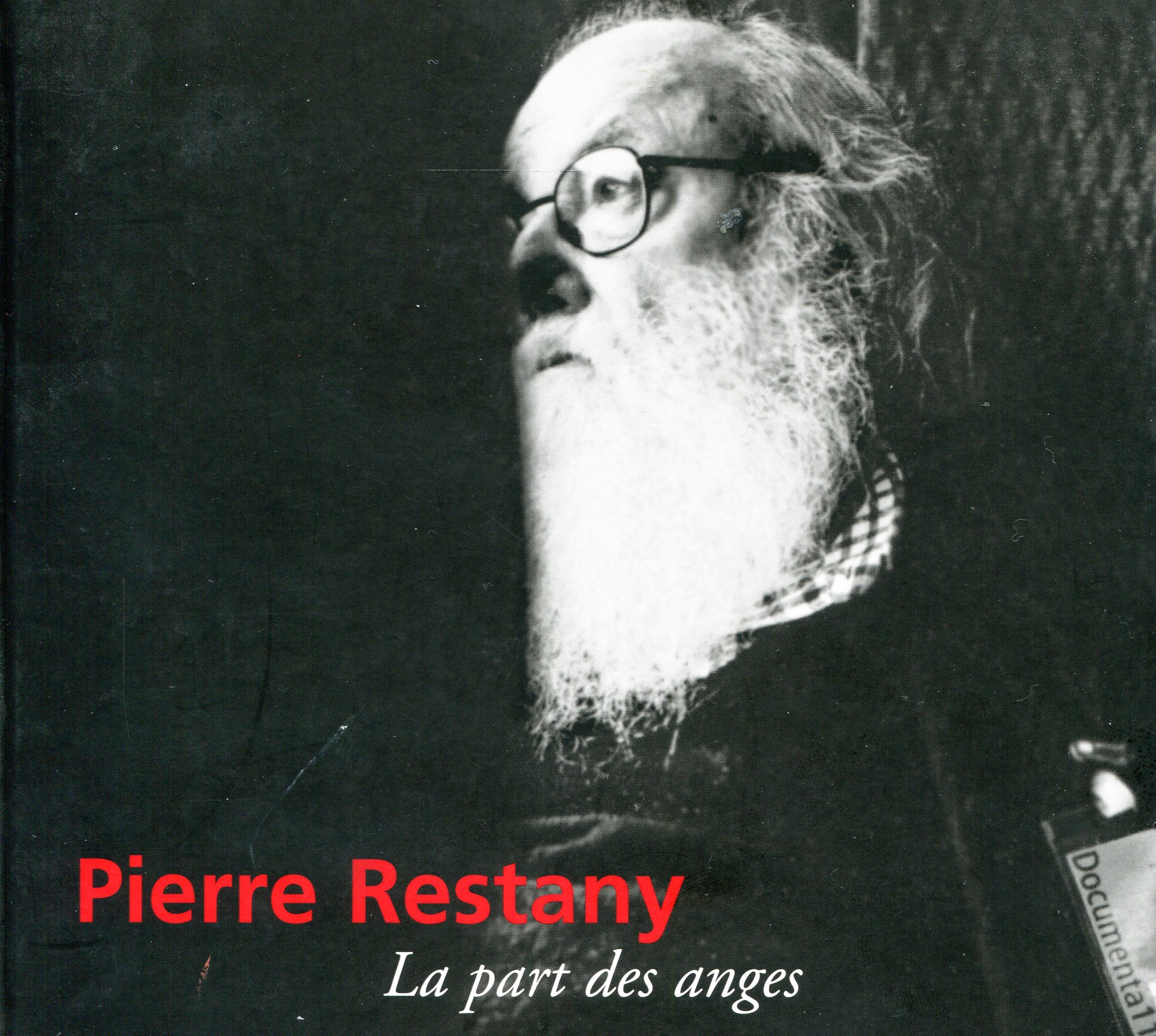 Pierre Restany, cover
