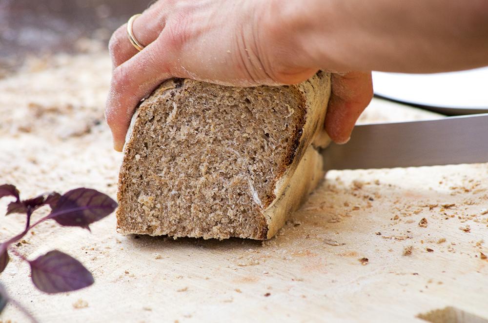 Focolare, cottura del pane