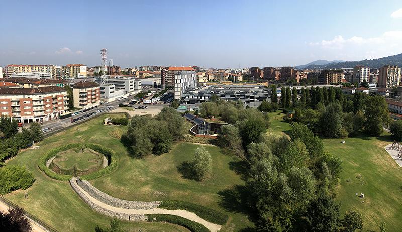 PAV, foto panoramica del parco