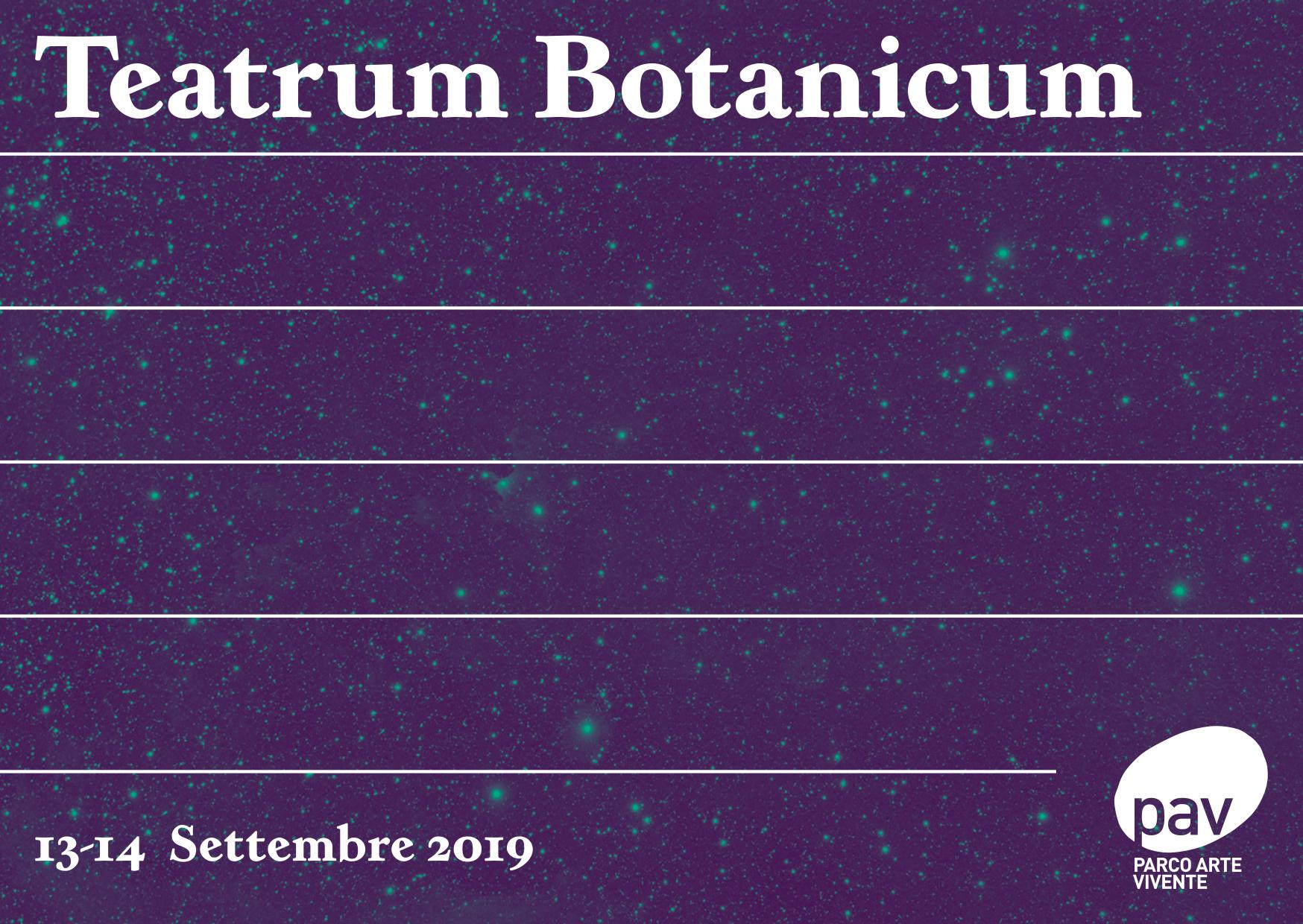Teatrum Botanicum, 2019